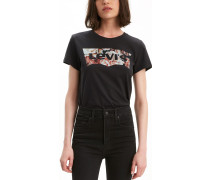 Levi'® The Perfect Damen T-hirt chwarz