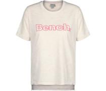 Corp Print W T-Shirt beige pink meliert