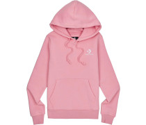 Star Chevron Damen Hoodie pink