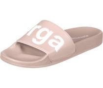 Slides Damen Badeschuhe pink