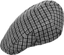 Hooligan Cap grau schwarz kariert