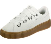 Platform Kiss Suede Damen Schuhe beige