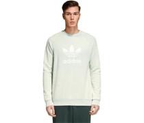 Trefoil Crew Sweater türkis