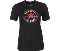 Core Solid Chuck Patch Crew W T-Shirts T-Shirt schwarz schwarz