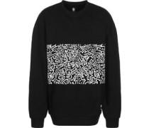 Kh Panel Crew Sweater schwarz