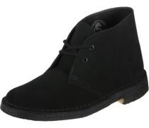 Desert Boot W Schuhe black suede
