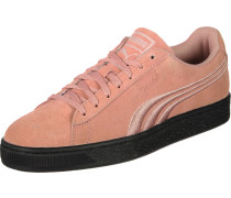 Suede Classic Badge Flip Schuhe rot