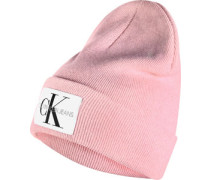 Basic Knitted W Beanie pink