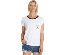 Teepee Ringer W T-Shirt white