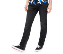 Ed-55 Regular Tapered Stretch Jeans schwarz