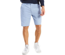 Straight Chino Shorts Herren mock blue