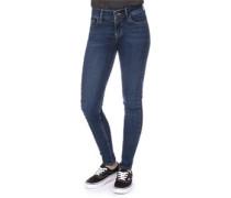 710 Innovation Super Skinny Jeans Damen essential blue