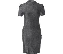 NMInfinity Damen Kleid schwarz silber