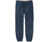 Marhall Non Denim Pant Hoe navy rined navy rined