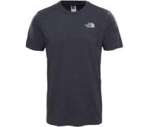 Simple Dome T-Shirt grau