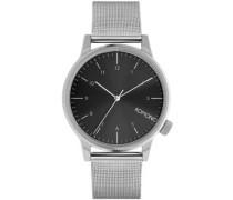 Winston Royale Uhr schwarz silber