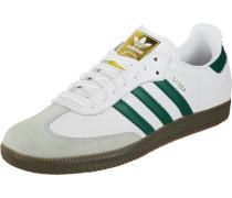 Samba Og Schuhe weiß grün
