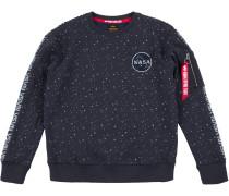 NASA Tape Herren Sweater blau