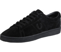 Spencer Suede Crepe Schuhe schwarz