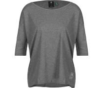 Lajla 1/2 Sleeve T-Shirt Damen grau meliert