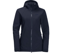 Rock Valley Damen Softshelljacke blau