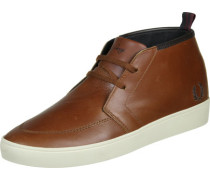 Shield Mid Leather Schuhe tan/chocolate