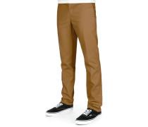 872 Slim Fit Work Herren Chino braun
