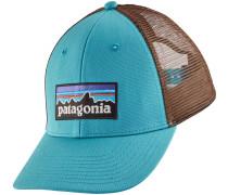 P6 Logo LoPro Trucker Cap blau braun