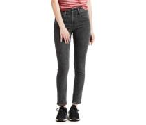 721 High Rise Skinny W Jeans Damen high-top black EU