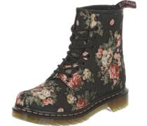 Victorian Flowers W Stiefel schwarz schwarz