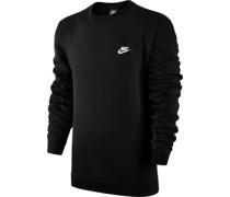 Crew Flc Club Sweater schwarz
