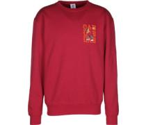 Dabbin Crewneck Sweater rot