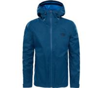 Frost Peak Regenjacke blau