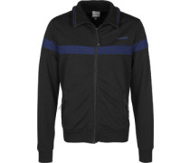 Funnel Neck Trainingjacke chwarz