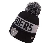 Team Tonal Knit Oakland Raiders Beanie schwarz