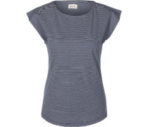 Charleston W T-Shirt Damen blau weiß gestreift EU