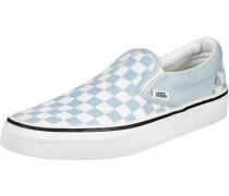 Classic Slip-On Schuhe blau weiß kariert EU