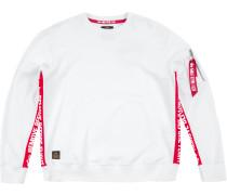 RBF Inlay Herren Sweater weiß