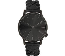 Winston Woven Uhr schwarz