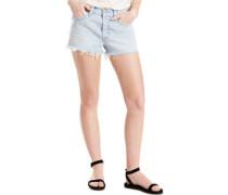 501 W Shorts Damen bowie blue short light indigo EU