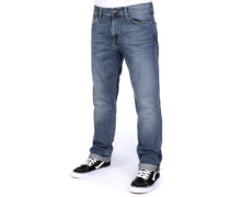 Davies Otero Jeans blue strand washed