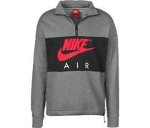 Air Sweater grau meiert schwarz