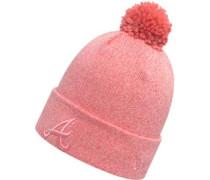 Essential Bobble Knit Atl Braves W Beanie Damen pink