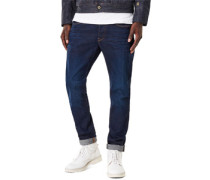 3301 Slim Jeans Herren blue aged EU