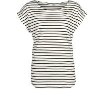 Bell Stripe Damen T-Shirt weiß blau gestreift