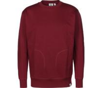Xbyo Crew Sweater weinrot rot weinrot rot
