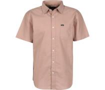 Charter Oxford Herren Kurzarmhemd pink