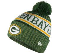 Nfl Sideline Bobble Greenbay Packers Beanie grün