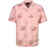Bueller S/s Wvn Herren Kurzarhed pink