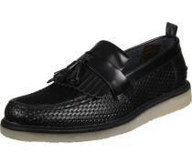 Fs x Gc Tassel Loafer Perf Leather Schuhe Herren schwarz